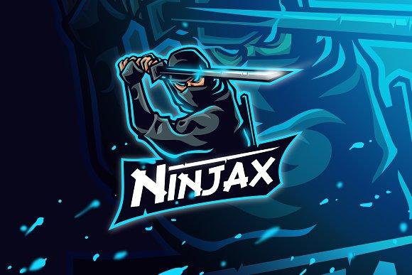 Ninjax - Mascot & Esport Logo