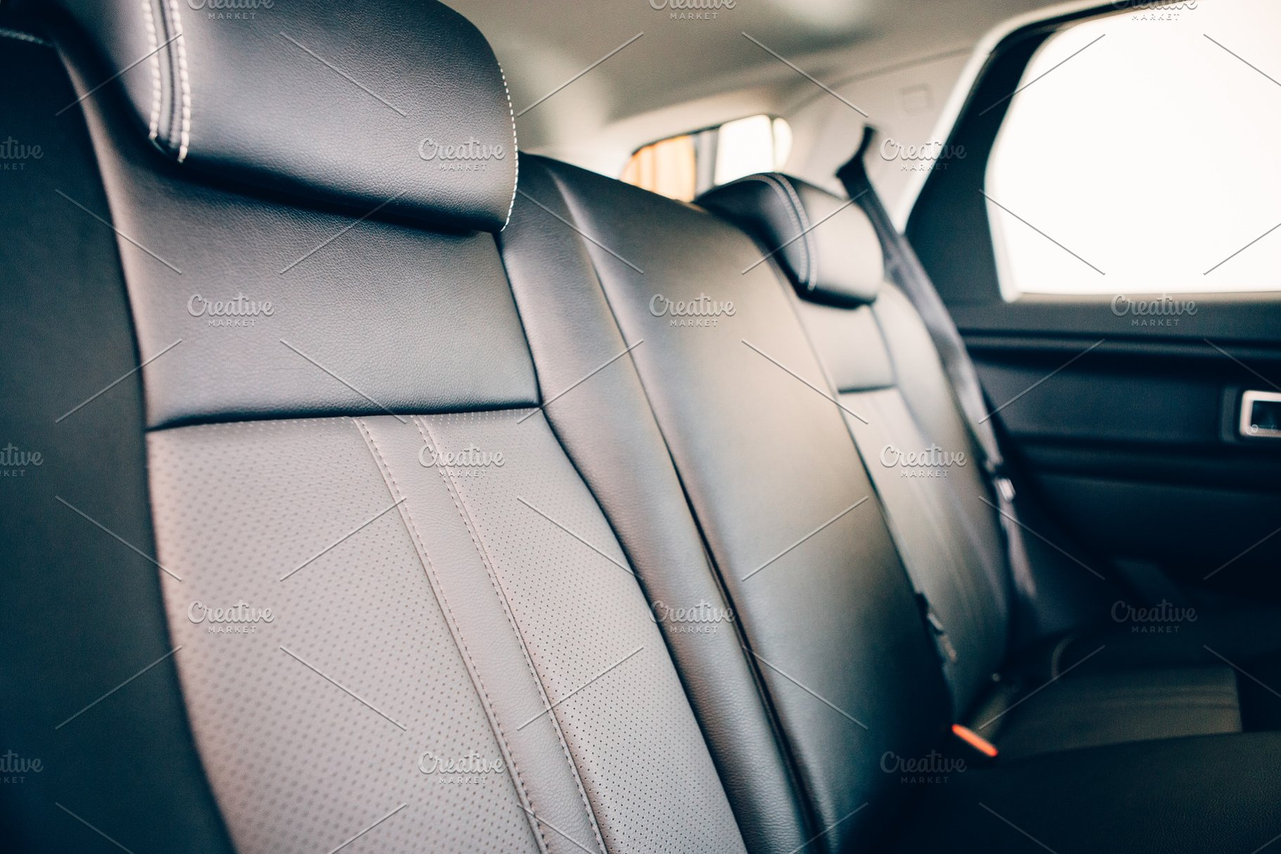 Car Leather Upholstery >> Car Seat In Leather Upholstery