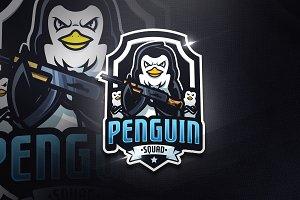 Penguin Squad - Mascot & Esport Logo