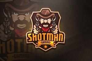 Shotman Gaming-Mascot & Esport Logo