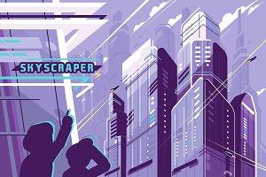 Skyscraper - Vector Activity