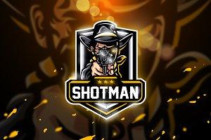 Shotman - Mascot & Esport logo