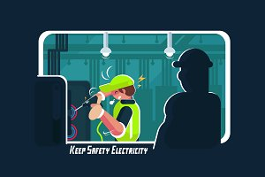 Keep Safety Electricity
