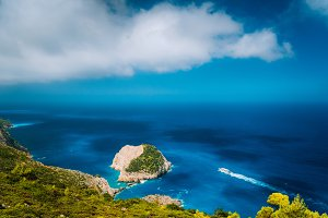 Zakynthos fantastic coastal view
