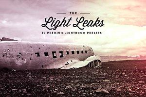 Light Leaks Vol.01- Lightroom Preset