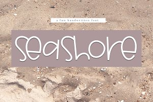 Seashore - A Fun Handwritten Font