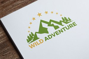 Wild Adventure Logo Template