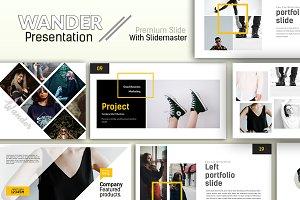 Wander Creative Google Slide