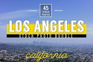Los Angeles Urban Photo Bundle