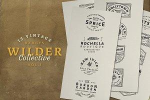 15 Vintage Bagde Logos Vol.1