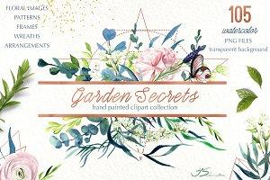 Garden Secrets Graphic Set