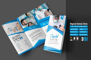 Digetal Dental Clinic Tri-Fold