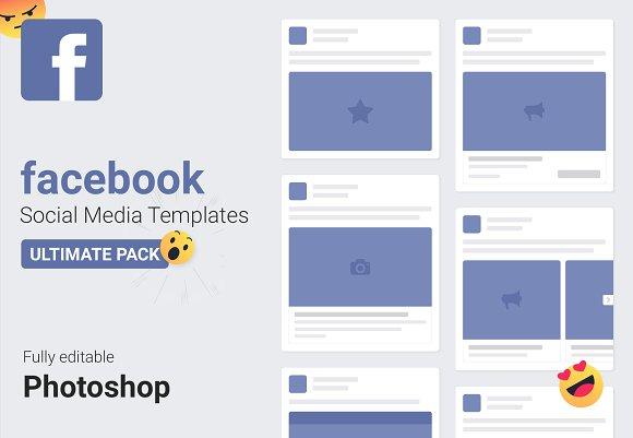 Facebook Mockups 2018 — Social Media