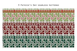 3 Patrick's day patterns