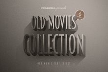 Old Movie Titles Collection by  in Layer Styles
