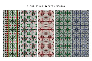 5 Cozy Knitted Christmas patterns