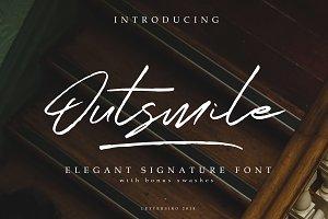 Outsmile Elegant Signature Font