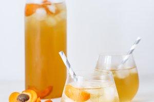 Apricot Iced Tea