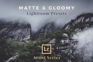 Matte & Gloomy – Lightroom Presets