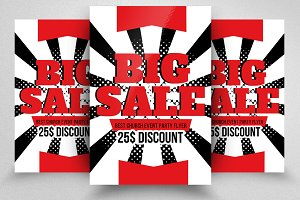 Mega Sale Offer Flyer Template