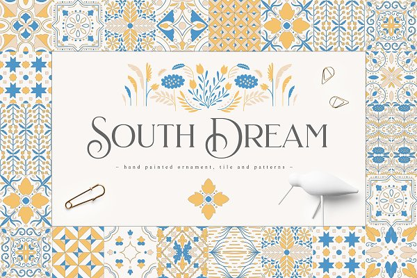 Illustrations and Illustration Products: Julia Dreams - South Dream Collection