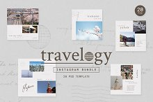 Instagram Bundle - TRAVELOGY by  in Social Media