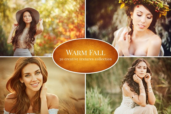 Warm Fall Textures collection
