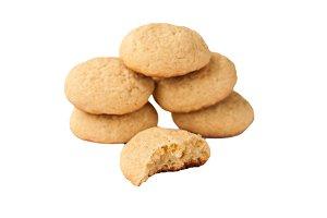 grentemskoe round cookies isolated