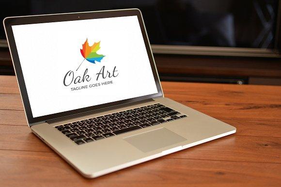 Oak Art Logo