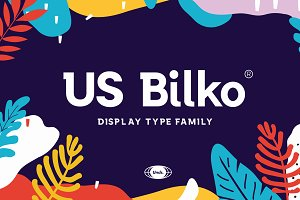 US Bilko - Semi-Slab Display Font