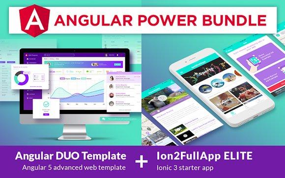 Angular Power Bundle