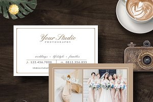 Business Card Template BC001