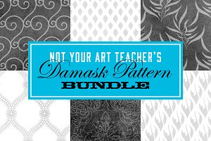 Not Your Art Teacher's Damask BUNDLE