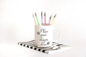 Back to school mug mockups september