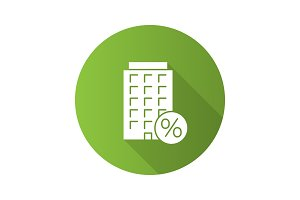 Home loan discount icon