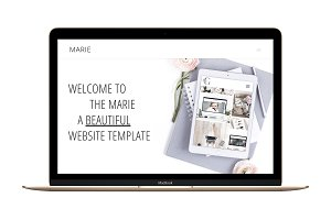 The Marie-Divi Child Wordpress Theme