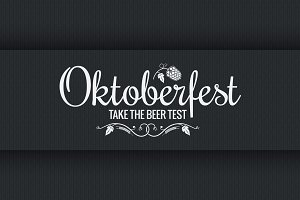 Oktoberfest vintage logo design