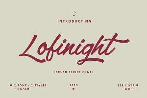 Lofinight font