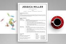 Classic Resume Template   CV + Bonus