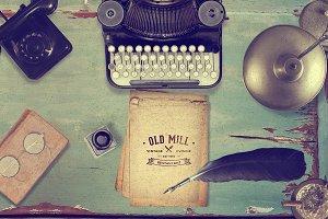 Vintage Mockup Creator