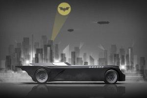 Batmobile-The Animated Series