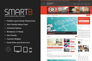SmartB - Magazine Wordpress Theme