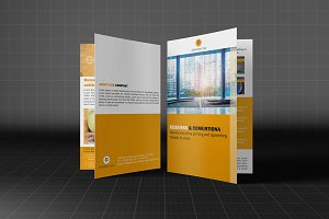 Creative Bifold Business Brochure