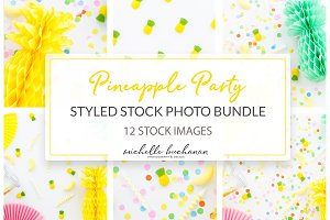 Styled Stock Pineapple Party Bundle
