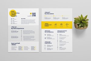 50% Off Resume Template