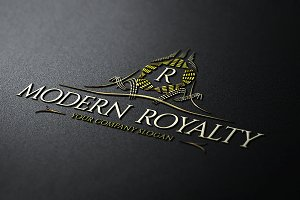 Modern Royalty Logo Template