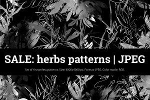 SALE: herbs patterns | JPEG