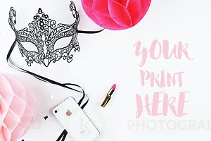 Styled photography. Mockup party