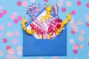 Gift envelope with Confetti