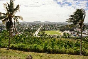 Cityscape of Santa Clara (Cuba)